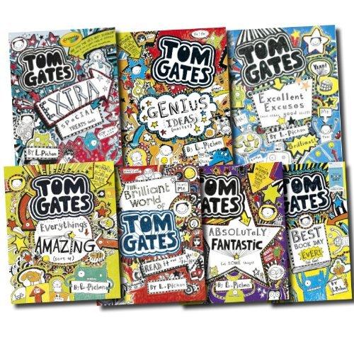 Tom Gates box set (books 1 to 7)