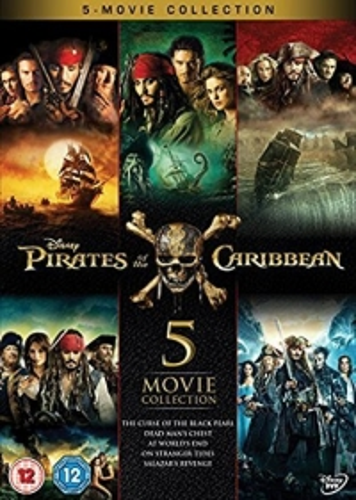 Pirates Of The Caribbean - 5 film box set