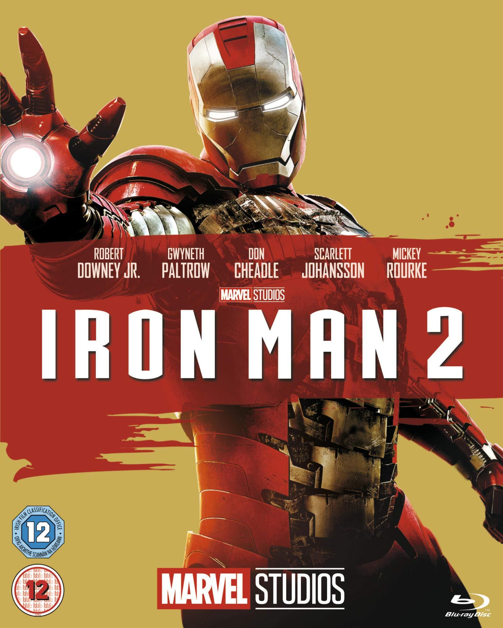 Marvel Cinematic Universe film 3 - Iron Man 2